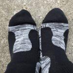 濡れない靴下